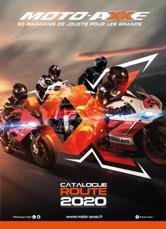 Moto-Axxe catalogue publicitaire (valable jusqu'au 31-12)
