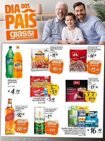 Giassi Supermercados catálogo promocional (válido de 10 até 17 13-08)