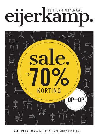 Eijerkamp reclame folder (geldig t/m 31-08)