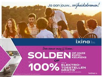 Ixina reclame folder (geldig t/m 31-08)