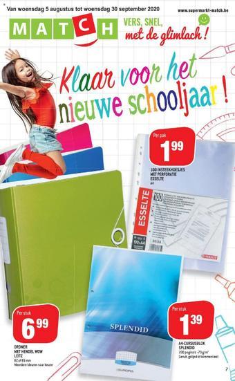 Match reclame folder (geldig t/m 30-09)
