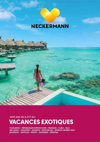 Neckermann Reizen reclame folder (geldig t/m 31-03)