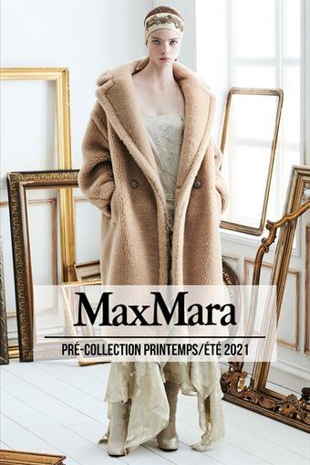 Max Mara catalogue publicitaire (valable jusqu'au 05-10)
