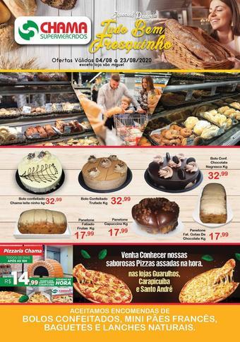 Chama Supermercados catálogo promocional (válido de 10 até 17 23-08)