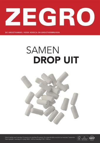 Zegro reclame folder (geldig t/m 29-08)