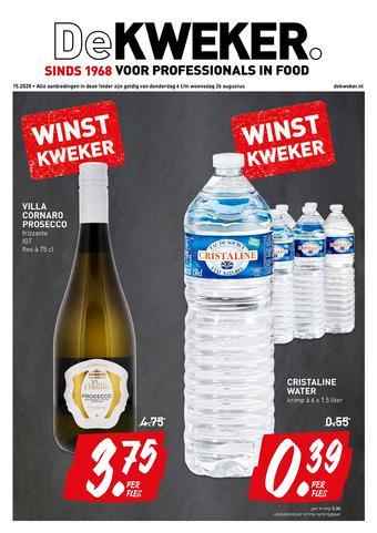 De Kweker reclame folder (geldig t/m 26-08)