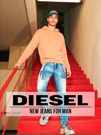 Diesel reclame folder (geldig t/m 13-09)