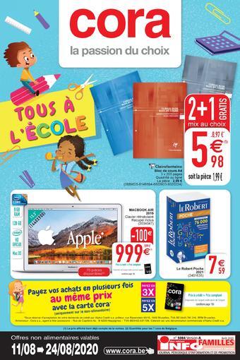 Cora catalogue publicitaire (valable jusqu'au 24-08)
