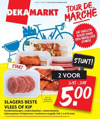 Dekamarkt reclame folder (geldig t/m 15-08)