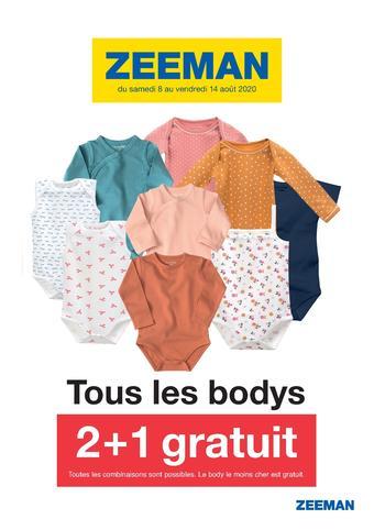 Zeeman catalogue publicitaire (valable jusqu'au 14-08)