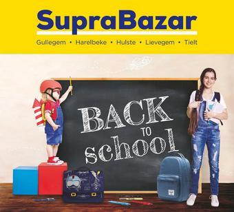 Supra Bazar reclame folder (geldig t/m 15-09)