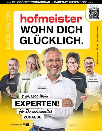 Hofmeister Prospekt (bis einschl. 31-10)