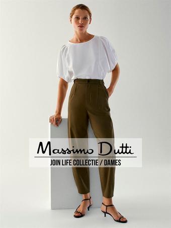 Massimo Dutti reclame folder (geldig t/m 06-10)