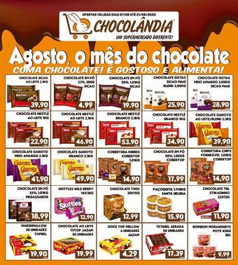 Chocolândia catálogo promocional (válido de 10 até 17 21-08)
