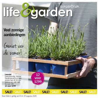 Life & Garden reclame folder (geldig t/m 19-08)