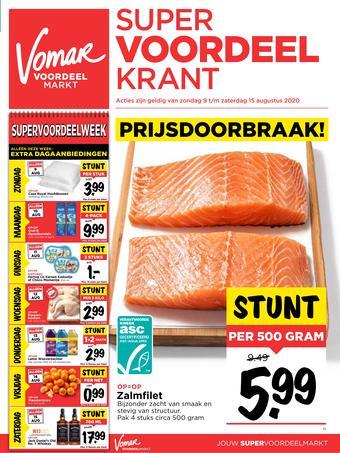 Vomar reclame folder (geldig t/m 15-08)