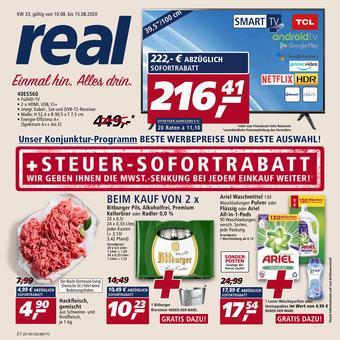 real reclame folder (geldig t/m 15-08)