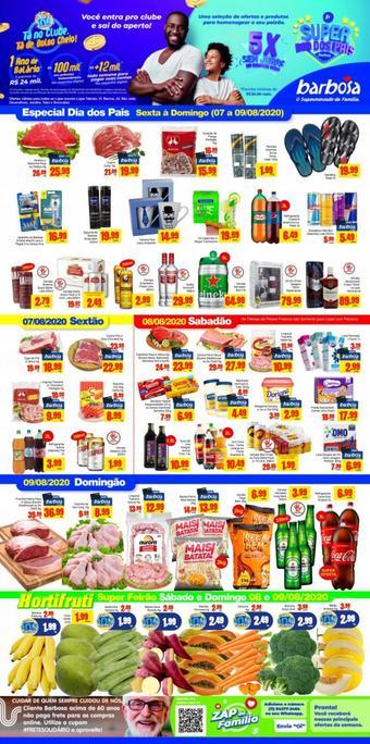 Barbosa Supermercados catálogo promocional (válido de 10 até 17 13-08)