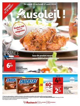Auchan catalogue publicitaire (valable jusqu'au 17-08)