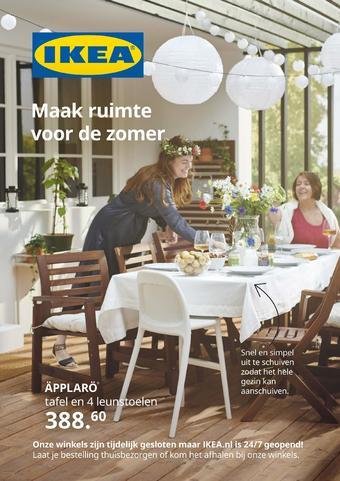 IKEA reclame folder (geldig t/m 15-08)
