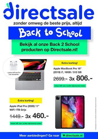 DirectSale reclame folder (geldig t/m 16-08)