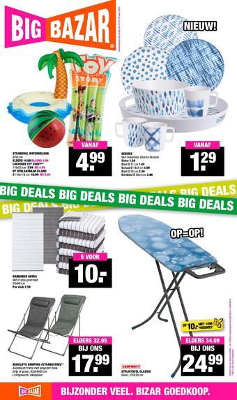 Big Bazar reclame folder (geldig t/m 23-08)
