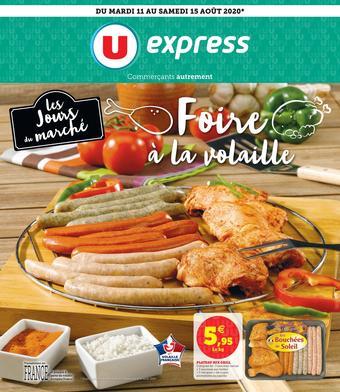 U Express catalogue publicitaire (valable jusqu'au 15-08)