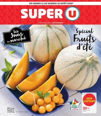 Super U catalogue publicitaire (valable jusqu'au 15-08)
