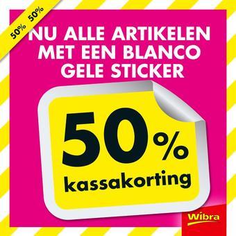 Wibra reclame folder (geldig t/m 31-08)