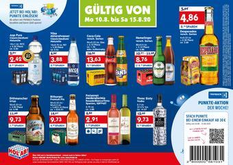 Hol'ab Getränkemarkt Prospekt (bis einschl. 15-08)