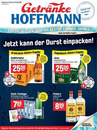 Getränke Hoffmann Prospekt (bis einschl. 15-08)