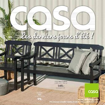 Casa catalogue publicitaire (valable jusqu'au 13-09)