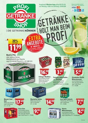 Profi Getränke Prospekt (bis einschl. 22-08)
