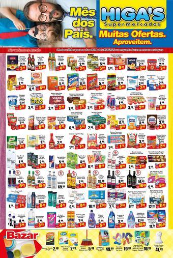 Higa's Supermercado catálogo promocional (válido de 10 até 17 14-08)