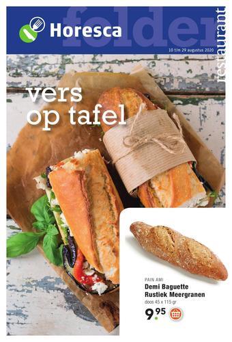 Horesca reclame folder (geldig t/m 29-08)