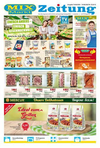 Mix Markt Prospekt (bis einschl. 16-08)