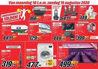 MediaMarkt reclame folder (geldig t/m 16-08)