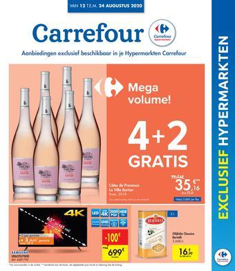 Carrefour reclame folder (geldig t/m 24-08)