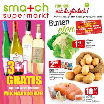 Smatch reclame folder (geldig t/m 18-08)