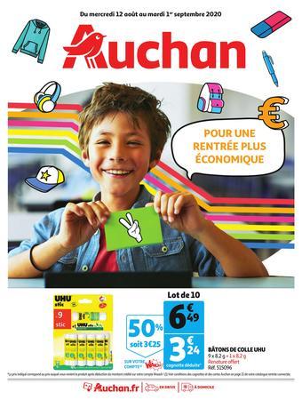 Auchan catalogue publicitaire (valable jusqu'au 01-09)