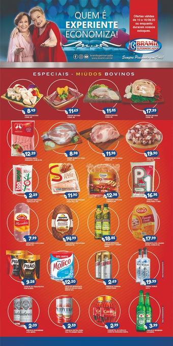Bramil Supermercados catálogo promocional (válido de 10 até 17 16-08)