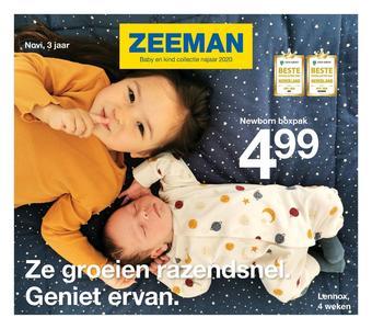 Zeeman reclame folder (geldig t/m 31-01)