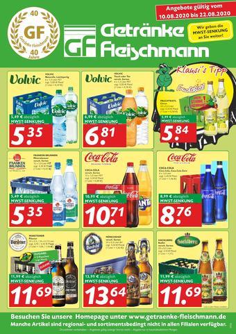 Getränke Fleischmann Prospekt (bis einschl. 22-08)
