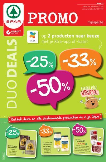 Spar Colruyt reclame folder (geldig t/m 26-08)