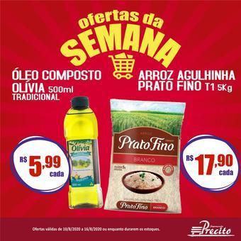 Supermercado Precito catálogo promocional (válido de 10 até 17 16-08)