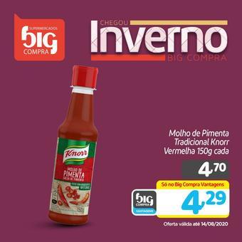 Supermercados Big Compra catálogo promocional (válido de 10 até 17 14-08)