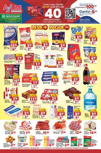 Ayumi Supermercados catálogo promocional (válido de 10 até 17 17-08)