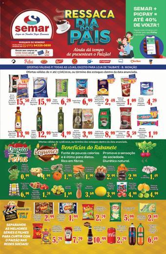 Semar Supermercado catálogo promocional (válido de 10 até 17 17-08)