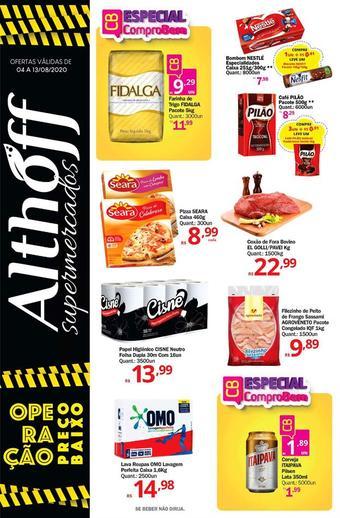Althoff Supermercados catálogo promocional (válido de 10 até 17 13-08)