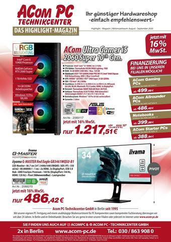 ACom PC Prospekt (bis einschl. 30-09)